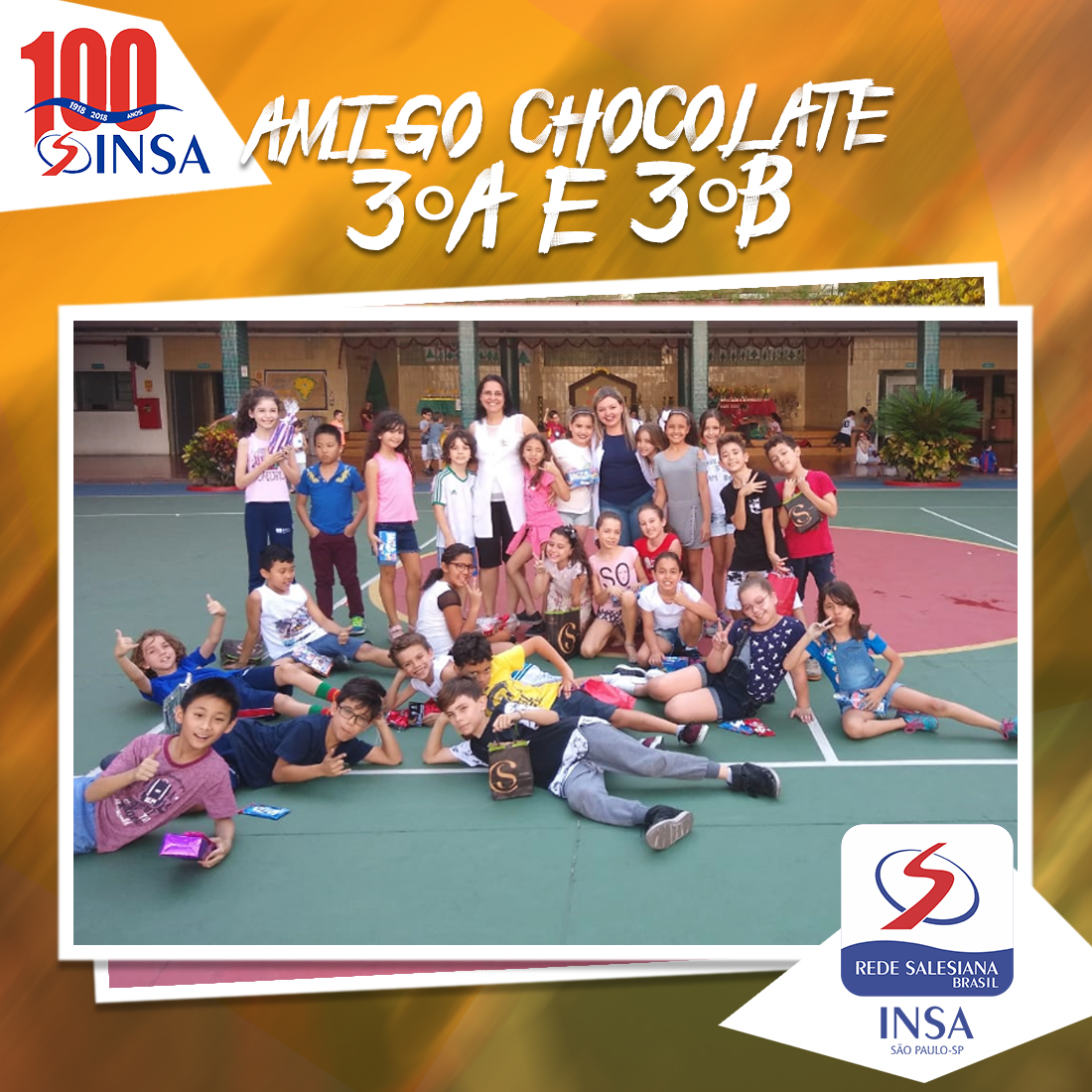 Amigo Chocolate - 3°A e 3°B