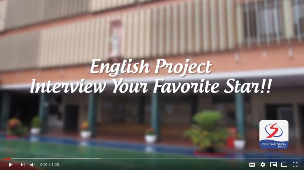 English Project - Interview your favorite star!!